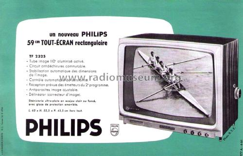 TF2325; Philips France; (ID = 2014197) Television