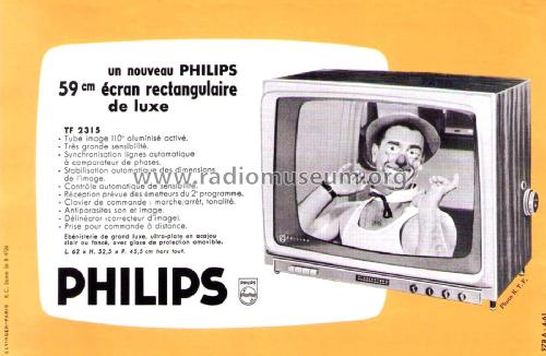 TF2315; Philips France; (ID = 2014196) Television