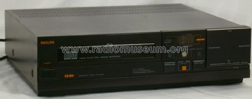 Compact Disc Player CD104 /60; Philips Belgium (ID = 1404224) Ton-Bild