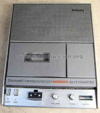 Cassette Recorder N2204 /00 Automatic; Philips - Österreich (ID = 858389) R-Player