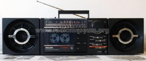 Cubic Compo Stereo Radio Cassette Recorder D8254/00; Philips - Österreich (ID = 2385738) Radio
