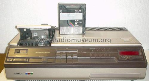 VCR Video Cassette Recorder N1702 /00 /15 /43 /45 /65; Philips - Österreich (ID = 183588) R-Player