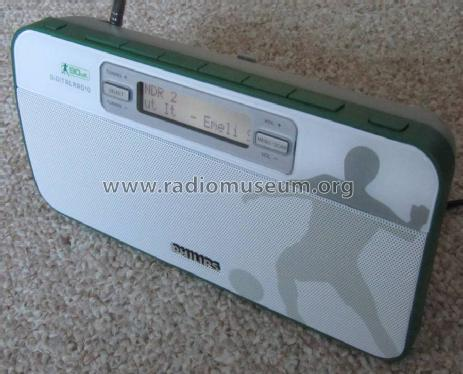 DAB Digital Radio 90elf AE9011/02; Philips 飞利浦; (ID = 1393957) Radio