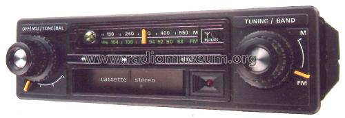 Cabrio iAC 660; Philips Radios - (ID = 2388989) Car Radio