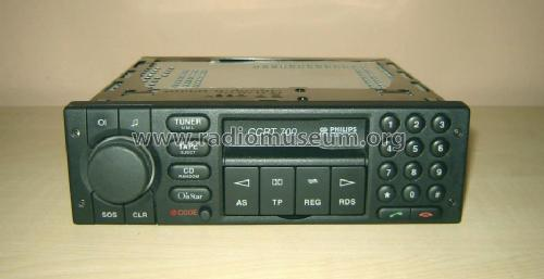 Car Radio CCRT 700; Philips Radios - (ID = 1173122) Car Radio