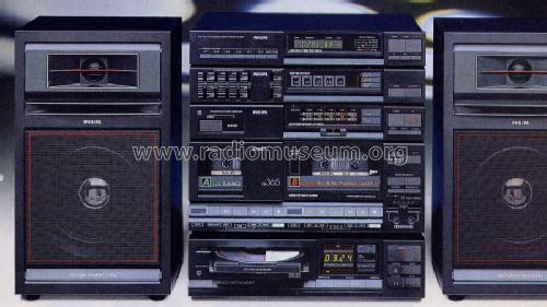 Cd Hifi Midi System F465cd Radio Philips Radios Deutschlan