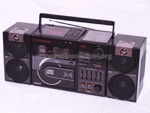 CD-Sound-Machine CD8854; Philips Radios - (ID = 2022041) Radio