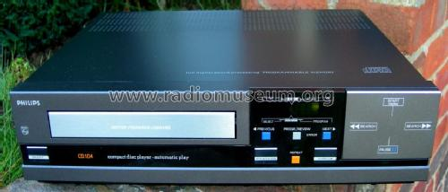 Compact Disc Player CD104 /05; Philips; Eindhoven (ID = 597307) R-Player
