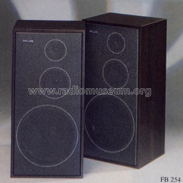 Hifi Lautsprecher Box Fb 254 Speaker P Philips Radios