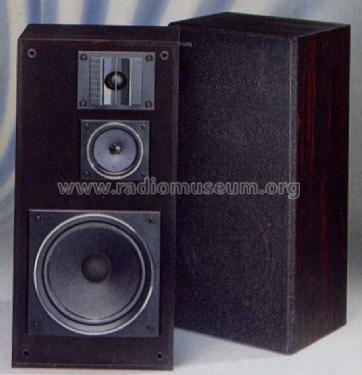 Hifi Lautsprecher Box Fb 259 Speaker P Philips Radios