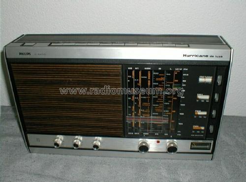 Hurricane de Luxe 50IC361 /00 /01 //02 /03 /07 Radio Philips