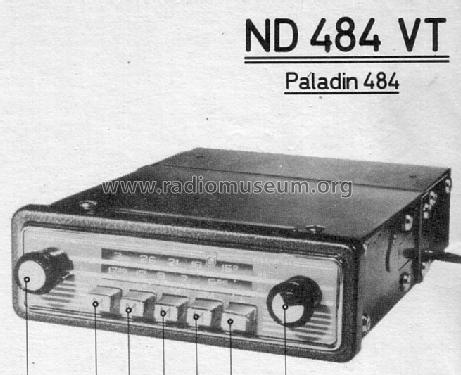 Paladin 484 ND484VT; Philips Radios - (ID = 154087) Car Radio