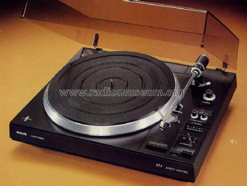 platine tourne disque vintage philips 777 synth se haute fid lit. Black Bedroom Furniture Sets. Home Design Ideas