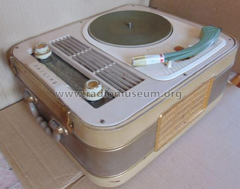 Radio-Phono-Koffer 464 HD464A; Philips Radios - (ID = 2594802) Radio