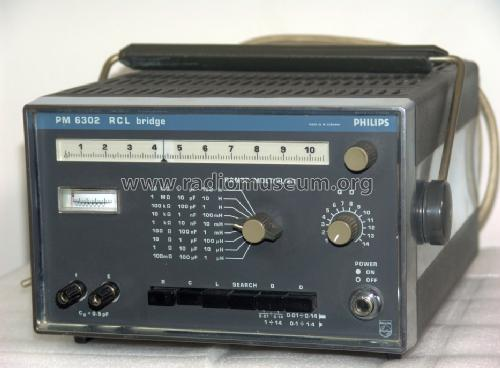 RCL Bridge PM6302; Philips Radios - (ID = 1058401) Equipment