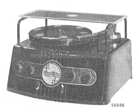 verst rker mit plattenspieler 2846 ampl mixer philips radios. Black Bedroom Furniture Sets. Home Design Ideas