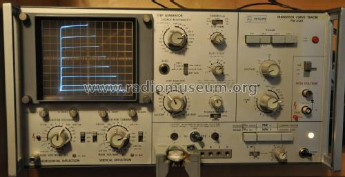Transistor Curve Tracer PM 6507 Equipment Philips - Schweiz