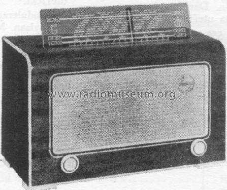 BS371U; Philips, Svenska AB, (ID = 760232) Radio