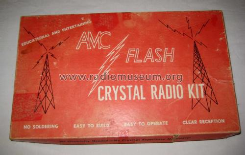 AMC Flash Crystal Radio Kit 700 ; Philmore Mfg. Co. - (ID = 2501743) Crystal