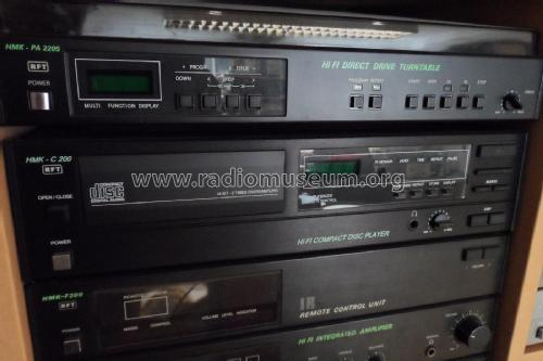 HiFi Compact Disc Player HMK-C200; Phonotechnik Pirna/ (ID = 1808705) R-Player