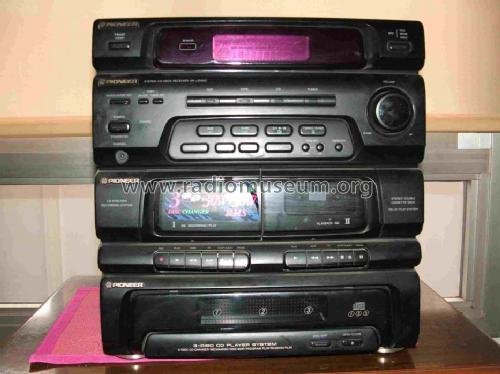 3-Disc CD Player System XR-J1500C; Pioneer Corporation; (ID = 595797) Radio