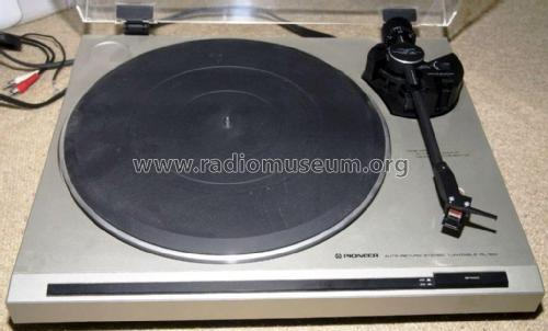 Auto-Return Stereo Turntable PL-120; Pioneer Corporation; (ID = 1957886) R-Player