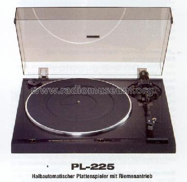 Pioneer Corporation; Auto-Return Stereo Turntable PL-225 uploaded by