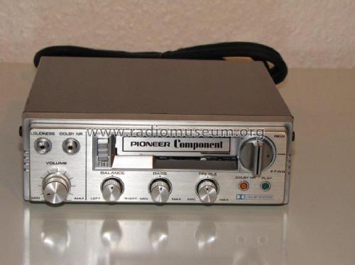 Auto Tape Deck Kx P88g R Player Pioneer Corporation