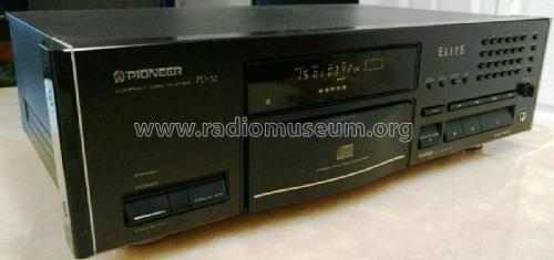Compact Disc Player PD-32 Elite; Pioneer Corporation; (ID = 2523317) R-Player