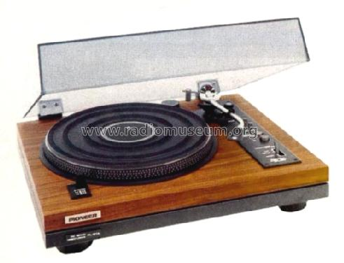 Direct Drive Stereo Turntable PL-51A; Pioneer Corporation; (ID = 556877) R-Player