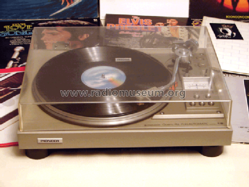 Quarz PLL Automatic Turntable PL-560; Pioneer Corporation; (ID = 568452) R-Player