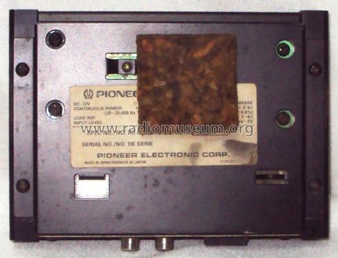 power amplifier gm 620 ampl mixer pioneer corporation rh radiomuseum org