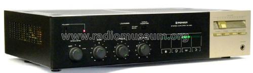 sa 330 ampl mixer pioneer corporation tokyo build 1982 rh radiomuseum org pioneer a-10-k 50w stereo amplifier manual pioneer stereo amplifier (pio-a10) manual