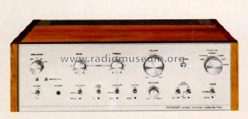 Stereo Amplifier SA-7100; Pioneer Corporation; (ID = 556844) Ampl/Mixer