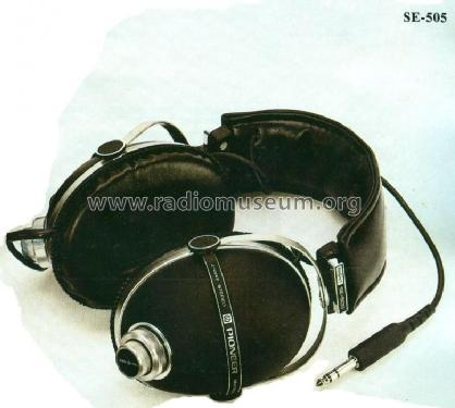 Stereo Headphone SE-505; Pioneer Corporation; (ID = 447176) Parlante