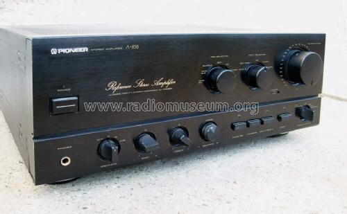 Stereo Amplifier A-858; Pioneer Corporation; (ID = 1178947) Ampl/Mixer