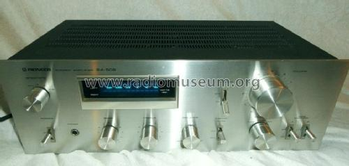 Stereo Amplifier SA-508; Pioneer Corporation; (ID = 1176758) Ampl/Mixer