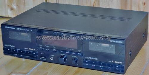 Stereo Double Cassette Deck CT-W710R; Pioneer Corporation; (ID = 2028001) Ton-Bild