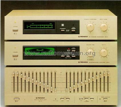 Stereo Graphic Equalizer SG-9 Ampl/Mixer Pioneer Corporation