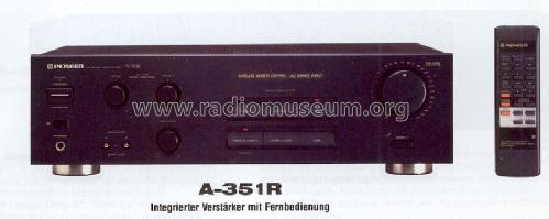 Stereo Integrated Amplifier A-351R; Pioneer Corporation; (ID = 1234182) Ampl/Mixer