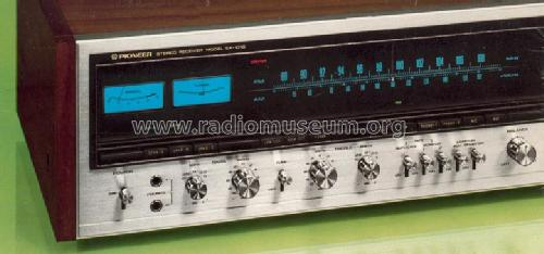Stereo Receiver SX-1010; Pioneer Corporation; (ID = 556857) Radio