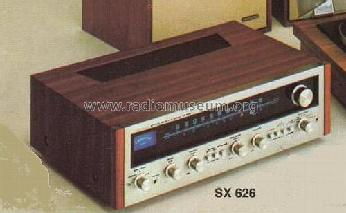 Stereo Receiver SX-626; Pioneer Corporation; (ID = 590627) Radio