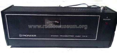 Stereo Transmitter TM-5 / N; Pioneer Corporation; (ID = 1773919) Commercial Tr