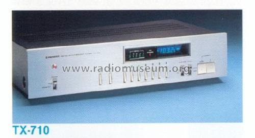 Stereo Tuner TX-710; Pioneer Corporation; (ID = 663717) Radio