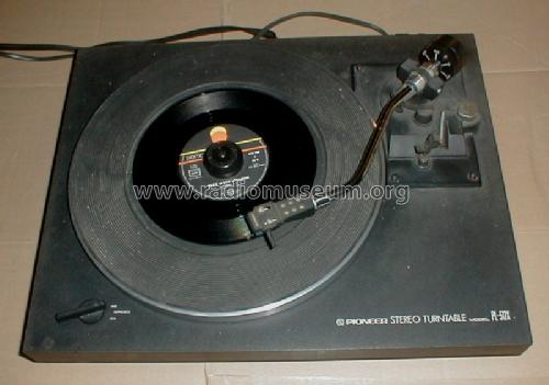Stereo Turntable PL-512X; Pioneer Corporation; (ID = 1273689) R-Player