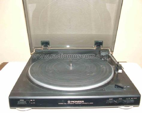 Stereo Turntable PL-J2500; Pioneer Corporation; (ID = 602538) R-Player