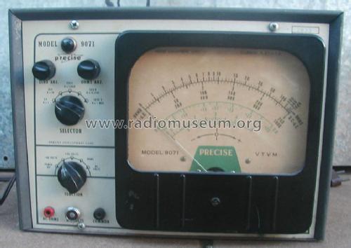 Vacuum Tube Tester 9071 Equipment Precise Electronics
