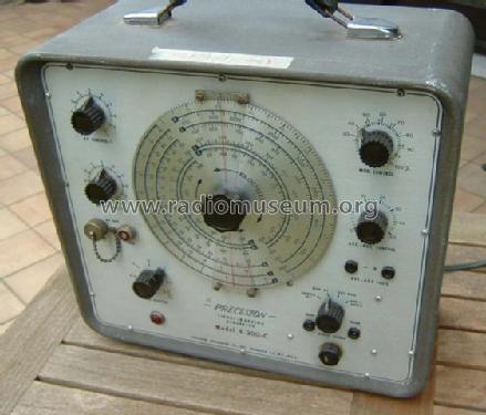 Signal Generator E-200-C; Precision Apparatus (ID = 103490) Equipment