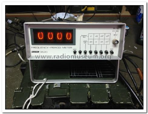 Frequency-Period Meter 9520; Racal Engineering (ID = 1500388) Equipment
