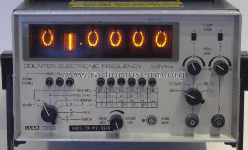 Frequency Counter 836; Racal Engineering (ID = 964312) Equipment